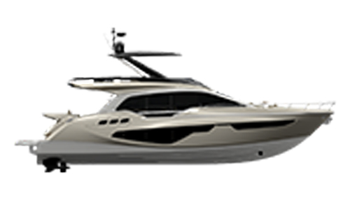 Sessa Marine Flybridge F68 Gullwing